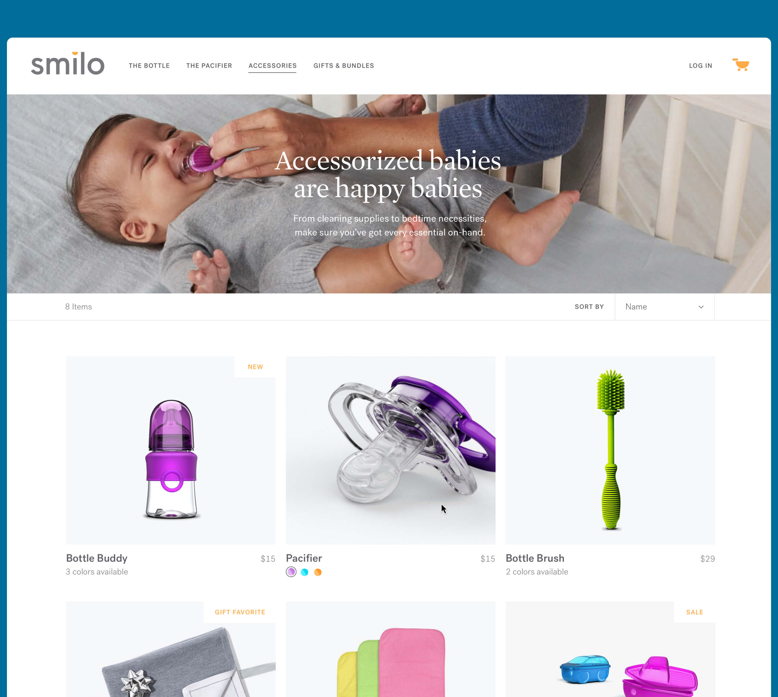 smilo category page